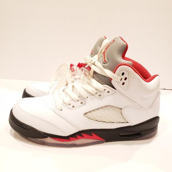free shipping 9302f 7f63d Nike Air Jordan 5 Retro GS  440888-100  Basketball. Jordan.  M 5c8c35fcfe5151ad08f4095a. M 5c8c35fd4ab633b6e2677288.  M 5c8c35fa7386bcc89487a395